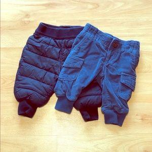 Baby Gap warm pants-Size 3-6months